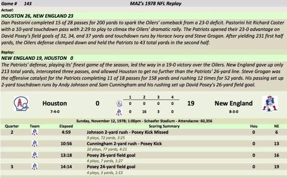 Game 143 Hou at NE