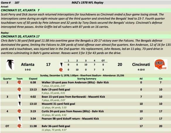 Game 187 Atl at Cin