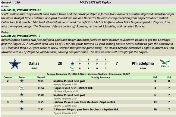 Game 199 Dal at Phi
