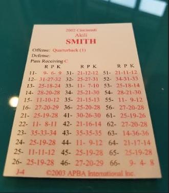 A. Smith Card
