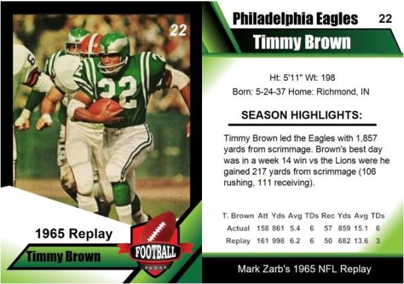 1965 - Timmy Brown