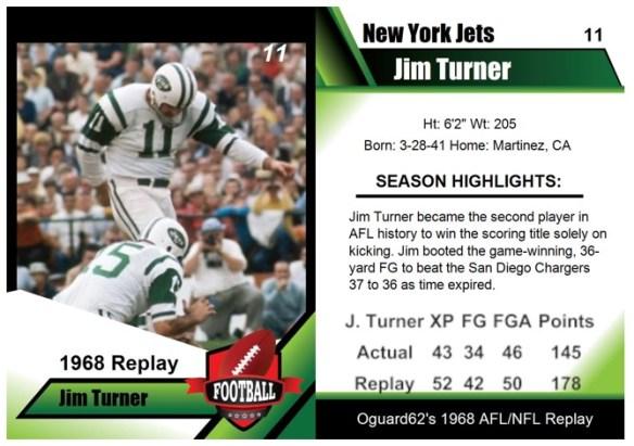 1968 Jim Turner Card
