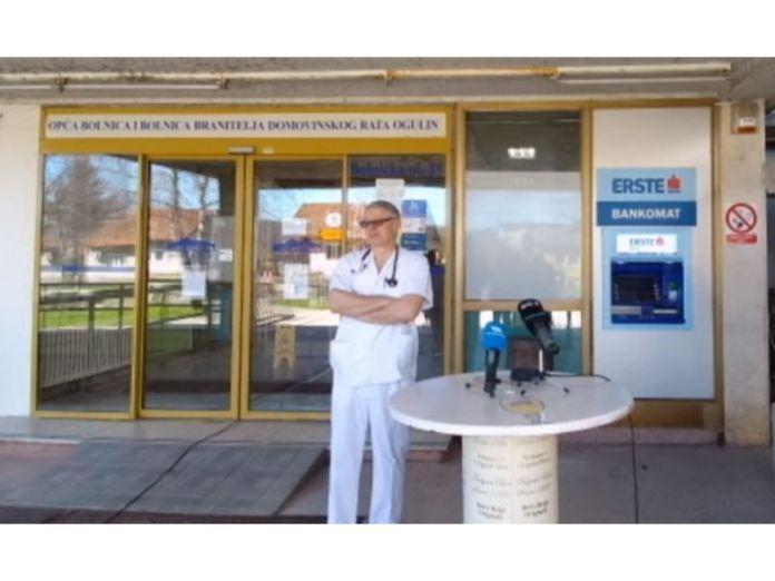 Ogulin.eu Dr. Zorko: Jedna Ogulinka je zaražena, a zaposlenici i ja smo u samoizolaciji