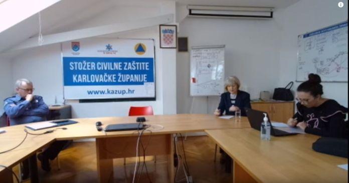 Ogulin.eu Pratite live prijenos konferencije za medije Stožera CZ Karlovačke županije 31.3.2020.