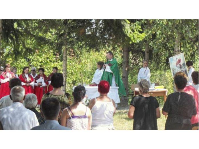 Ogulin.eu Misa za branitelje i blagoslov nove kapelice u Vajin Vrhu