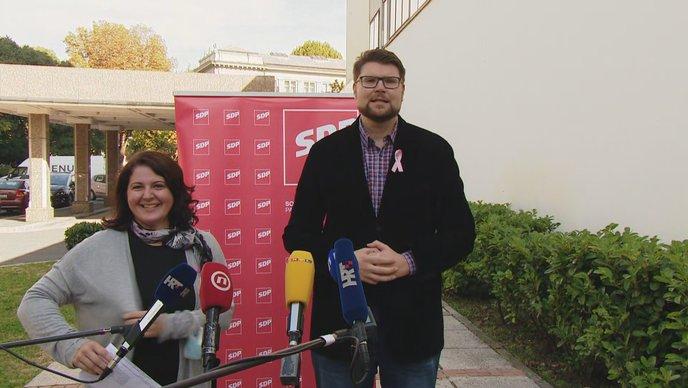 Marija Lugaric i Peda Grbin HRT