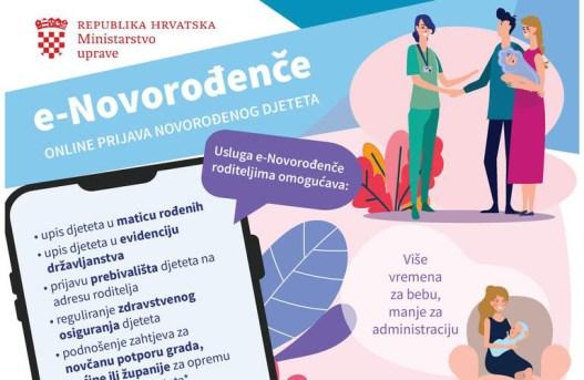Ogulin.eu Karlovačka županija pristupila korištenju aplikacije e-novorođenče
