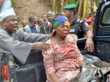 Amosun Rescues Accident Victims