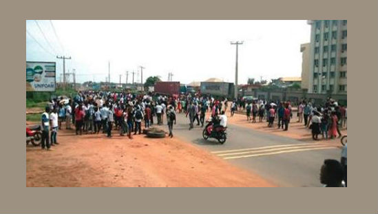 Ogun students protest