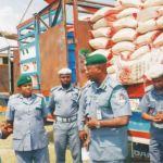 Customs raid rice market