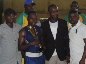 Daniel, best boxer in the Abeokuta boxing tournament