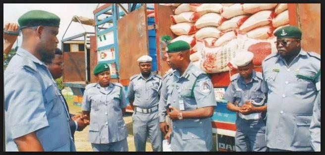 Men of Nigerian custom service