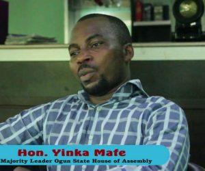 Ogun House of Assembly majority leader, Hon. Yinka Mafe