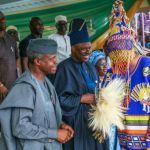 Osinbajo on new akarigbo of Remoland
