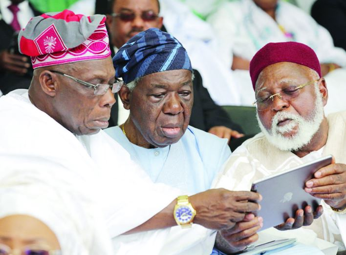 Image result for obasanjo, sonekan