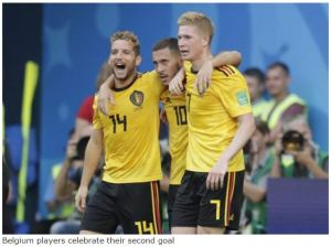 Belgium team