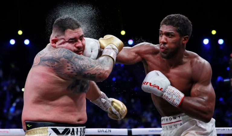 Anthony Joshua wins – the blow by blow account