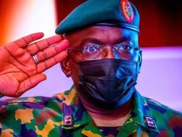 Nigerian Late Chief of Army Staff, Lt General Ibrahim Attahiru
