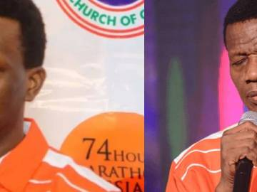 Padtor Dare Adeboye and dad, Pastor Adeboye