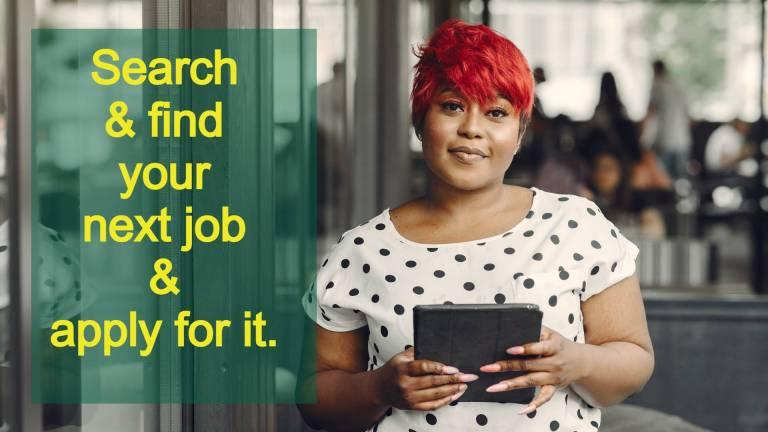 image depicting a job seeker