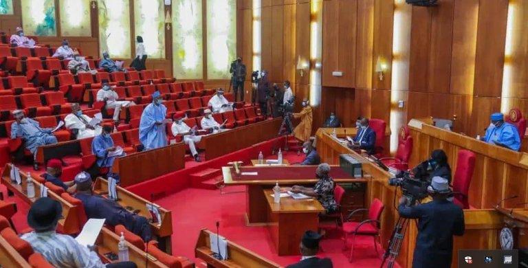 Nigeria's Senate Chamber