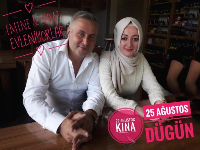 Emine ve Sedat Evleniyorlar