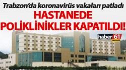 Virüs Patladı, Hastanede Poliklinikler Kapatıldı!