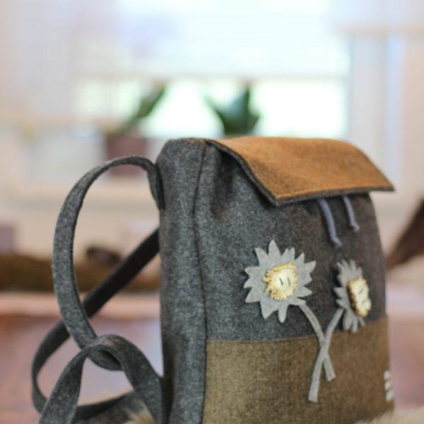 omd, oh my deer, forkl, johannes forkl, trachtentasche, exklusive trachtentasche, loden trachtentasche, handarbeit, trachtentasche handarbeit, traditionelle trachtentasche österreich, trachtentasche hirsch, trachtentasche handgefertigt österreich, , trachtige tasche, hochwertige trachtentasche, , filz trachtentasche, geschenkidee jägerin, rucksack aus Filz, filz rucksack