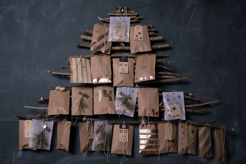 Adventkalender selber machen