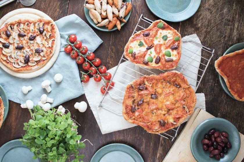 Familienrezept: Pizza ohne Hefe.
