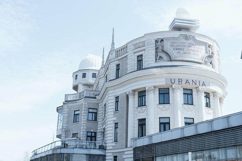 Wochenende in Bildern. Urania Wien.