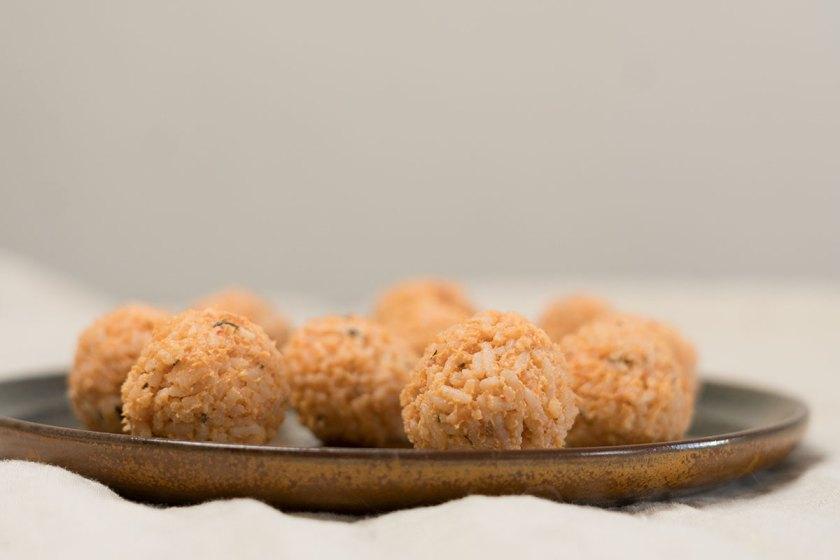 BLW: Rezept für Reisbällchen