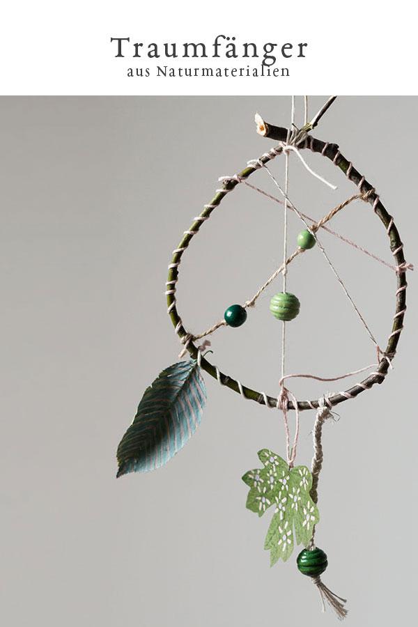 DIY: Traumfänger aus Naturmaterialien