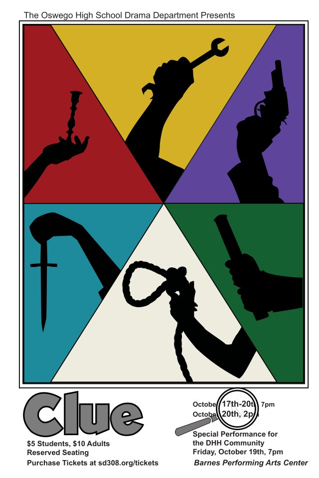 """""""Clue"""" poster"""
