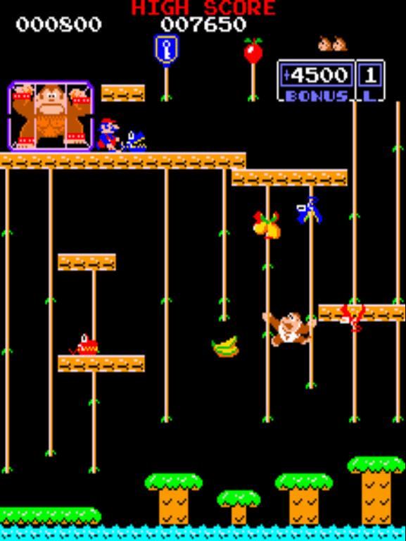 Donkey Kong Jr. gameplay screenshot
