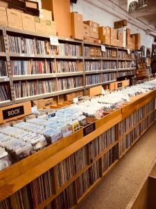 Rock records section