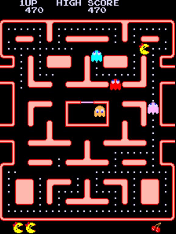 Ms. Pac-Man gameplay screenshot