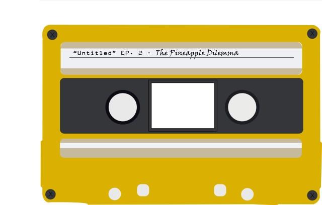 Untitled logo, a cassette tape