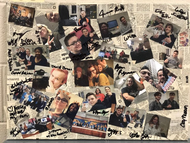 Photo collage of 42Fifty writers