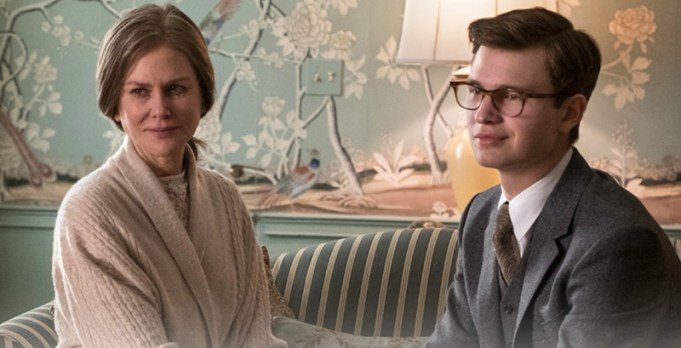 """two characters from """"The Goldfinch"""" movie"""