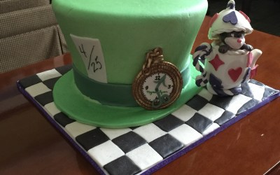 New cake – Specialty Mad Hatter Cake Lakeland