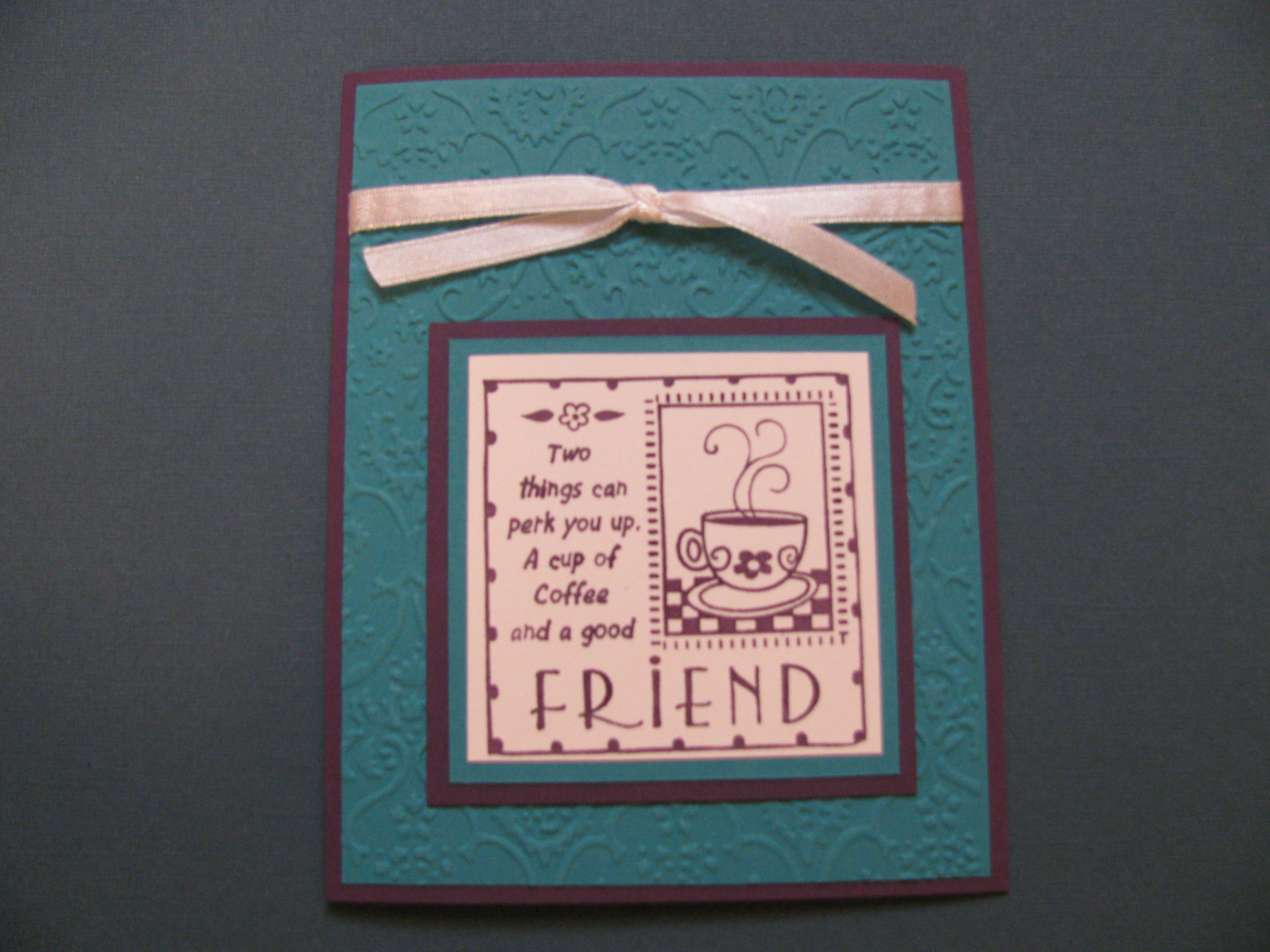 Handmade Friendship Cards Karens Cards Amp Ideas
