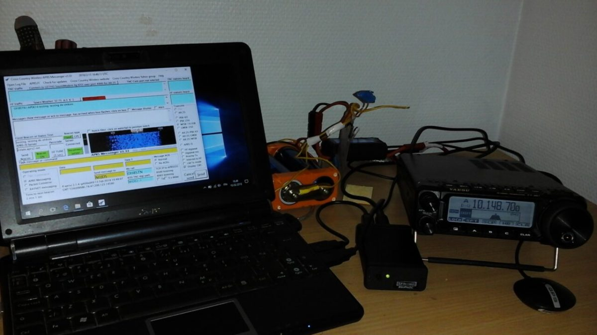 HFAPRS with APRS Messenger & DroidPSK