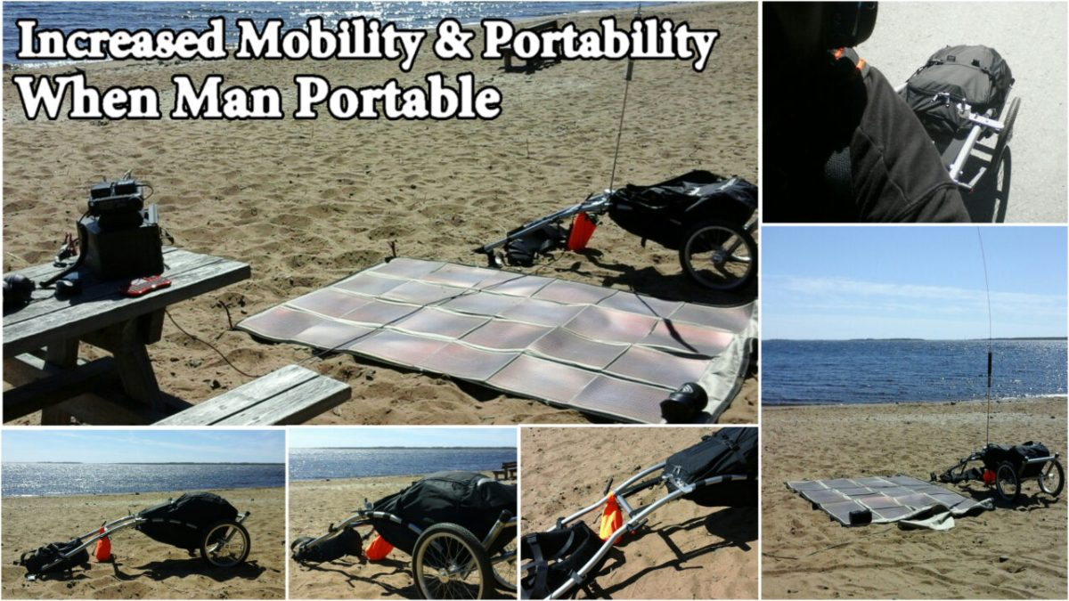 Increasing Mobility & Portability when Man Portable