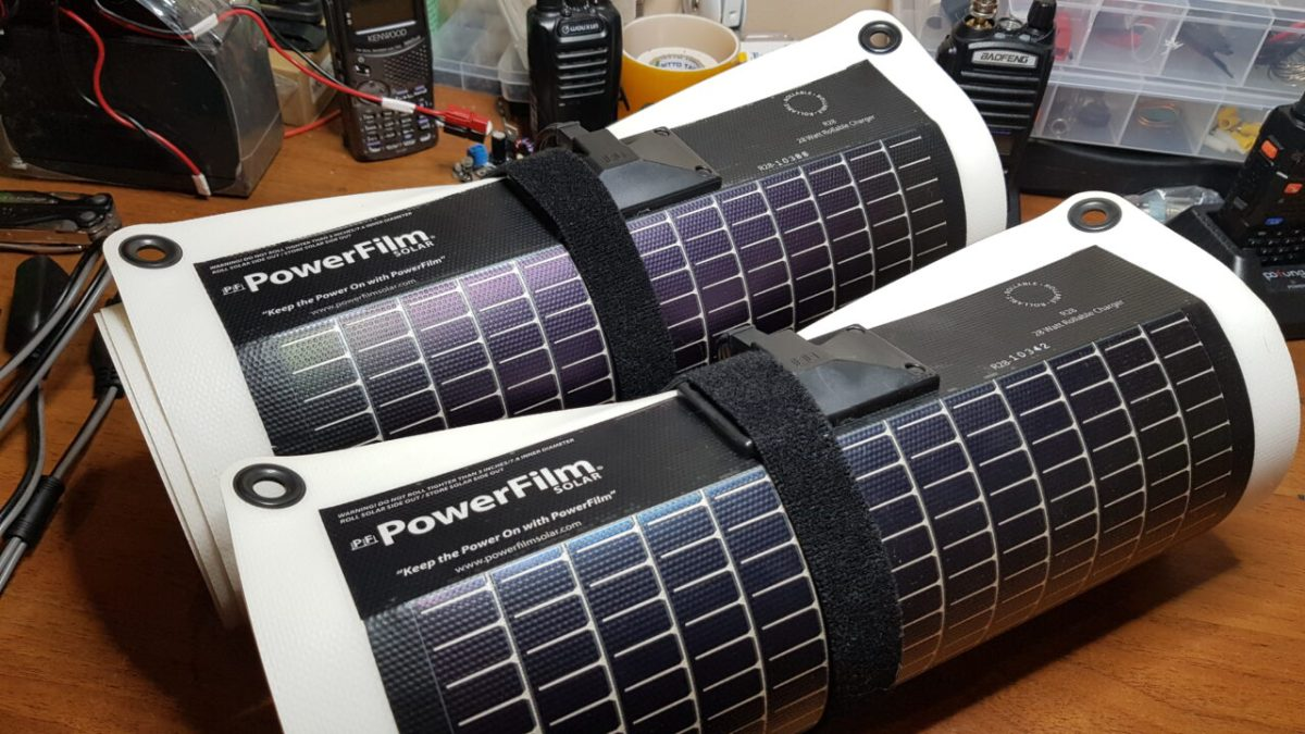 PowerFilm R28 Rollable Solar Panels