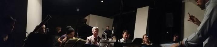 "Conducting Matt Mitchell ""Spree"", The Stone - NYC"