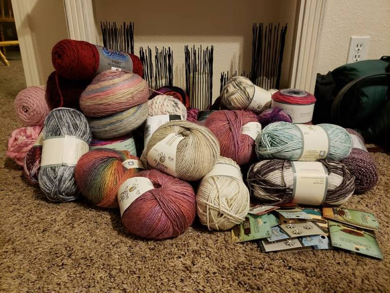 Damn the Yarn Sales!!!!!!