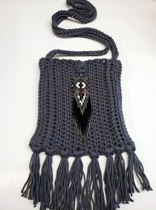Free Crochet Boho Bag Pattern