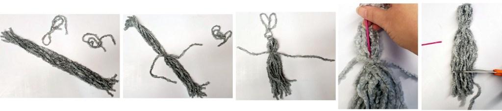 'Ohana Boutique how to make a yarn tassel