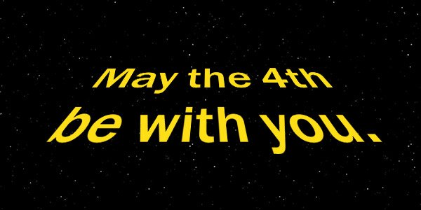 Read more about the article May The Fourth Be With You
